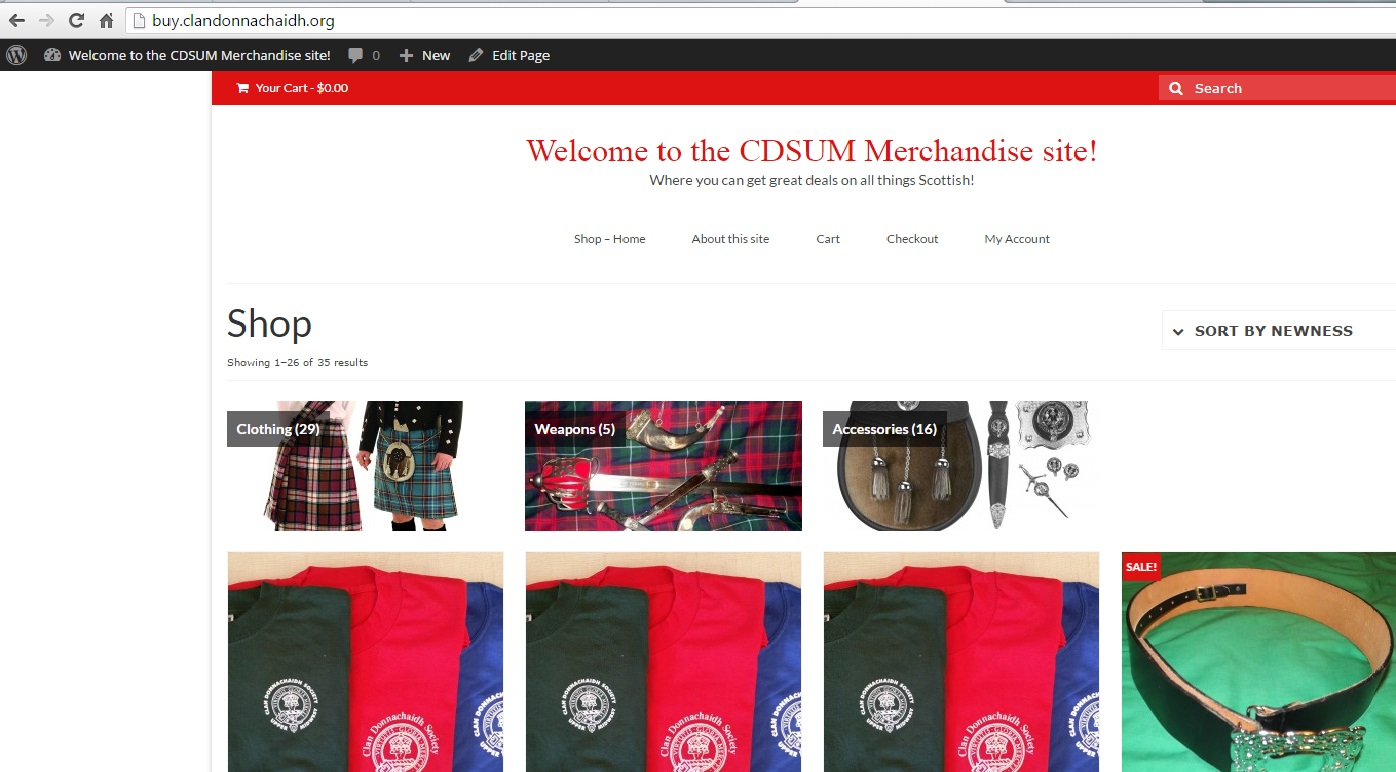 clan merchandise site